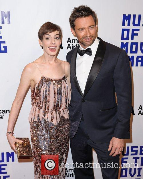 Hugh Jackman and Anne Hathaway 4