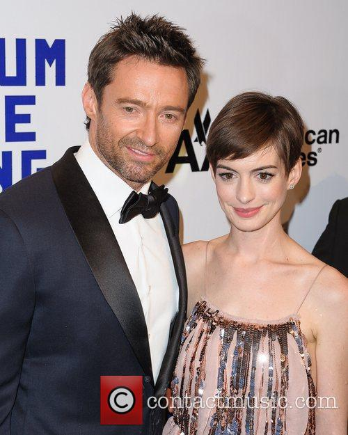 Hugh Jackman and Anne Hathaway 3