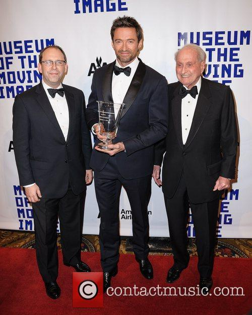 Hugh Jackman, Carl Goodman and Herbert S. Schlosser 7