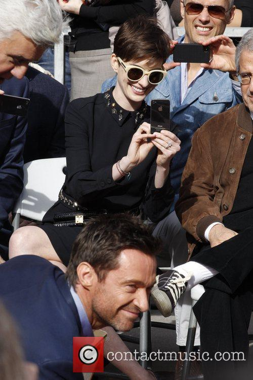 Hugh Jackman and Anne Hathaway 6