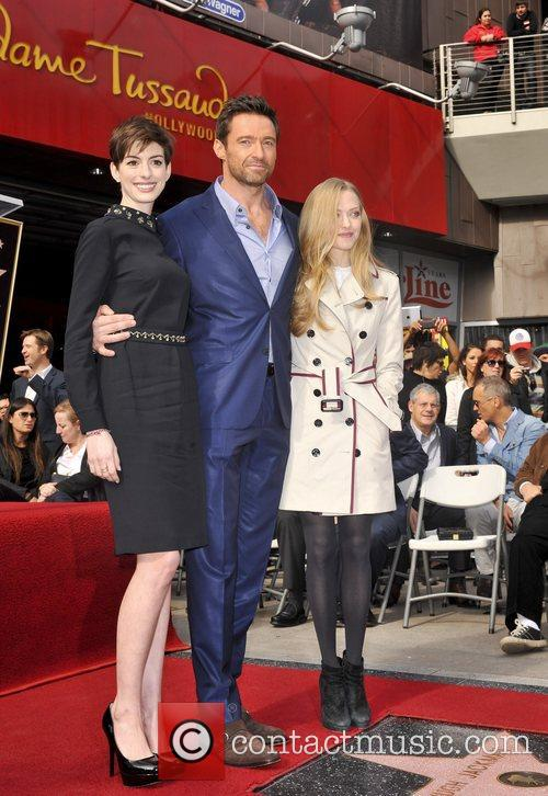Anne Hathaway, Hugh Jackman and Amanda Seyfried 11