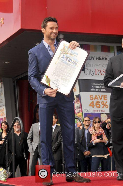 Hugh Jackman, Hollywood Star, Hollywood Walk and Fame 11