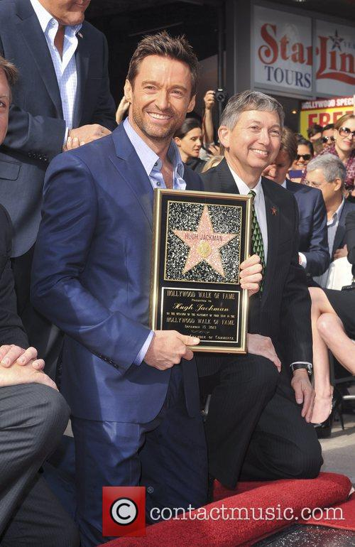 Hugh Jackman, Hollywood Star, Hollywood Walk and Fame 6