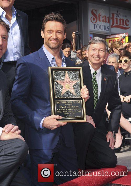 Hugh Jackman, Hollywood Star, Hollywood Walk and Fame 7