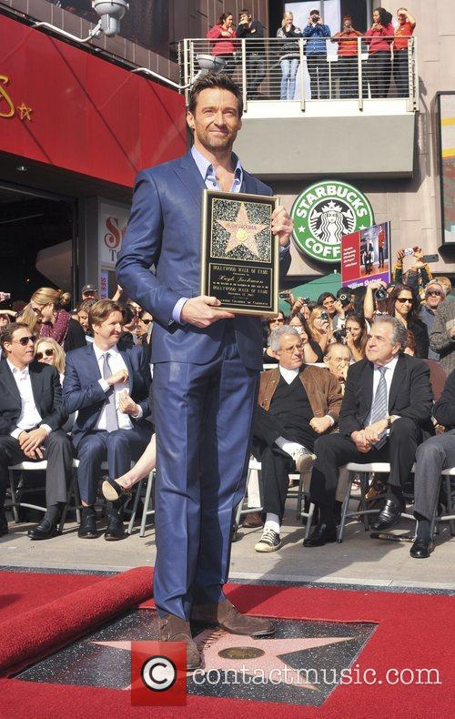 Hugh Jackman, Hollywood Star, Hollywood Walk and Fame 9
