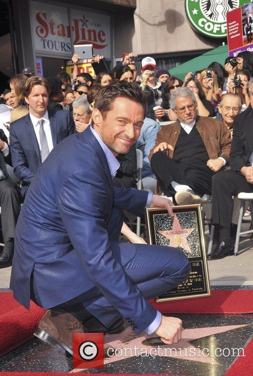 Hugh Jackman, Hollywood Star, Hollywood Walk and Fame 10