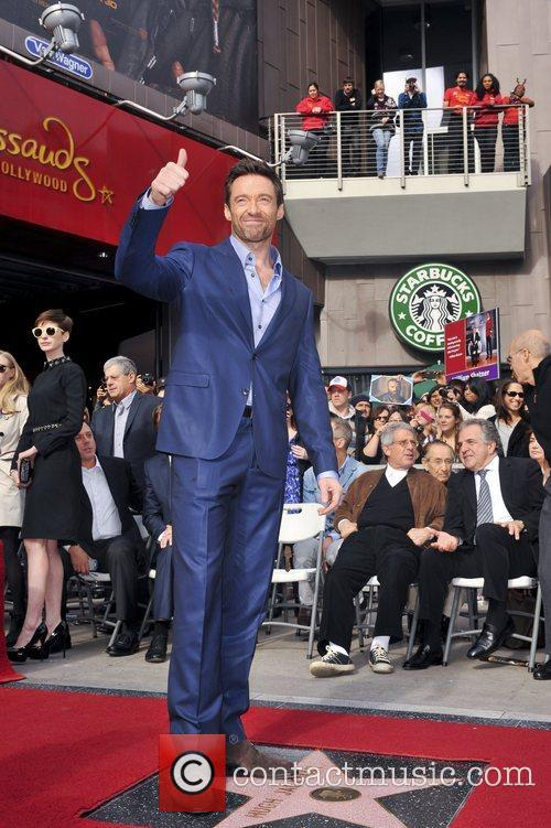 Hugh Jackman, Hollywood Star, Hollywood Walk and Fame 9