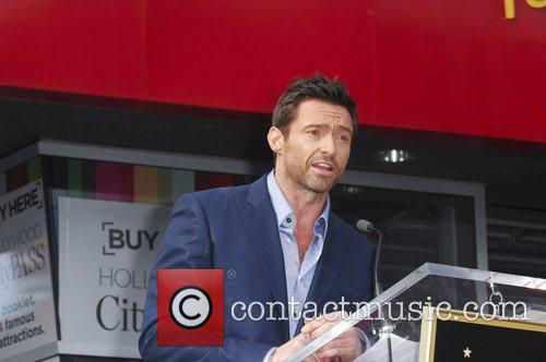 Hugh Jackman, Hollywood Star, Hollywood Walk and Fame 8