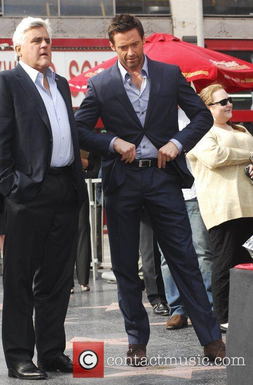 Hugh Jackman and Jay Leno 10