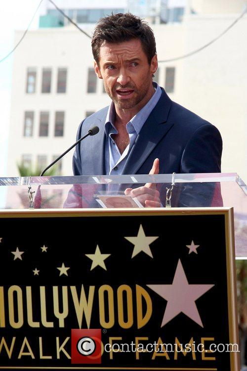 Hugh Jackman, Hollywood Star, Hollywood Walk and Fame 2