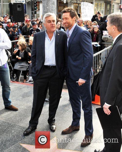 Hugh Jackman, Jay Leno