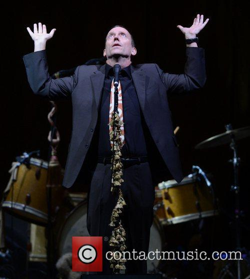 hugh laurie performing on stage at hammersmith 3973406