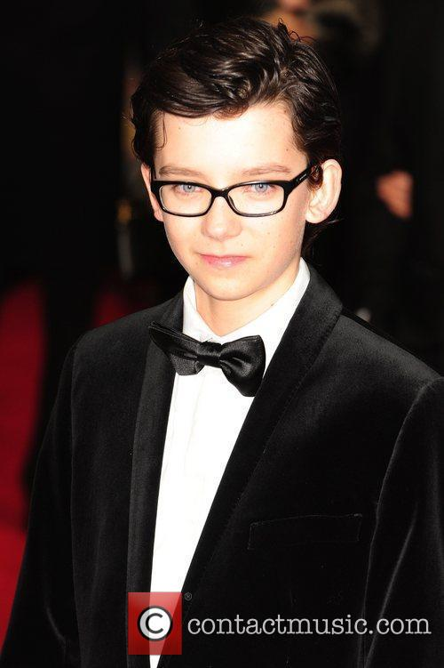 Asa Butterfield and Odeon Leicester Square 4