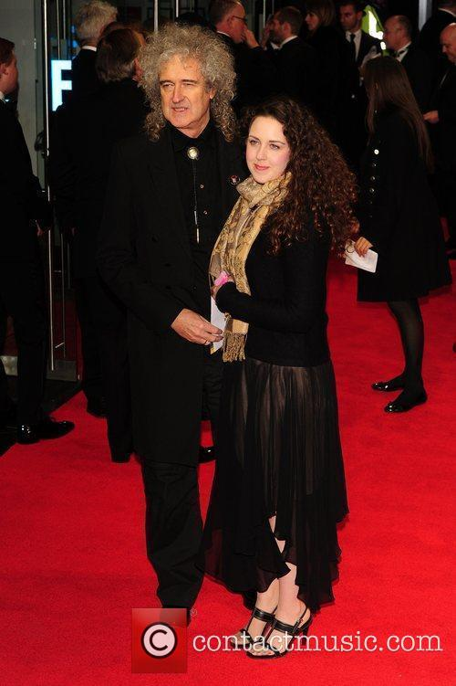 Brian May with his daughter Emily Ruth Royal...