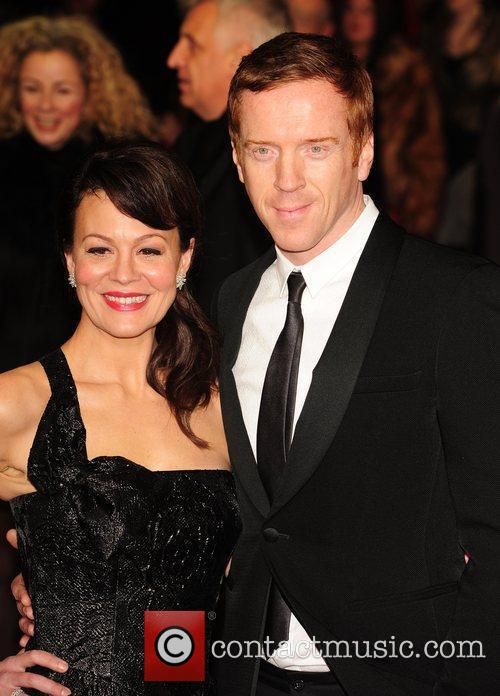 Helen Mccrory, Damian Lewis and Odeon Leicester Square 7