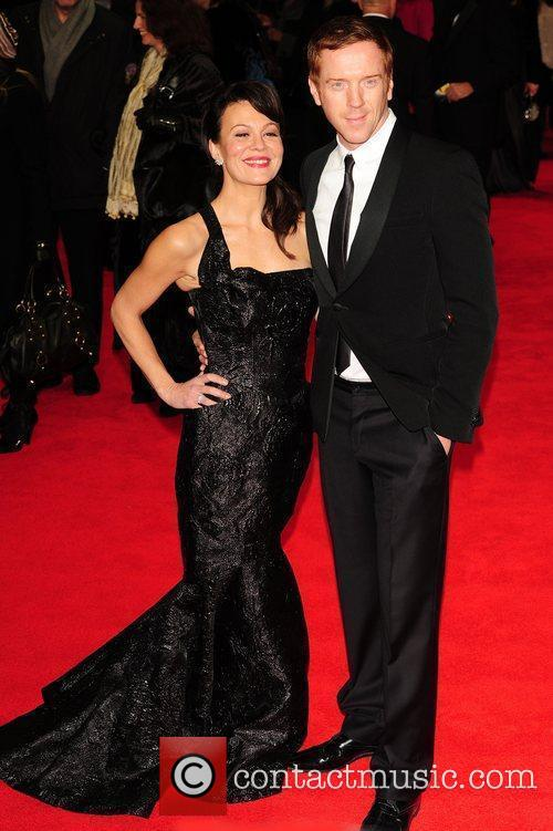 Helen Mccrory, Damian Lewis and Odeon Leicester Square 6