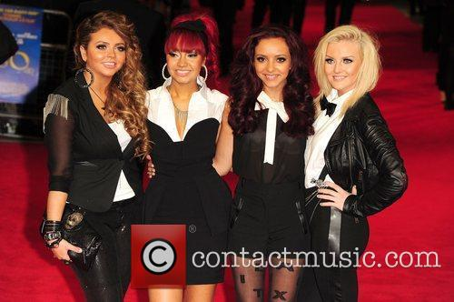 Jesy Nelson, Leigh-Anne Pinnock, Jade Thirwell and Perrie...