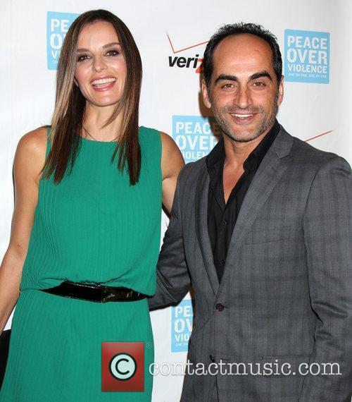 Ana Alexander and Navid Negahban 41st Annual Peace...