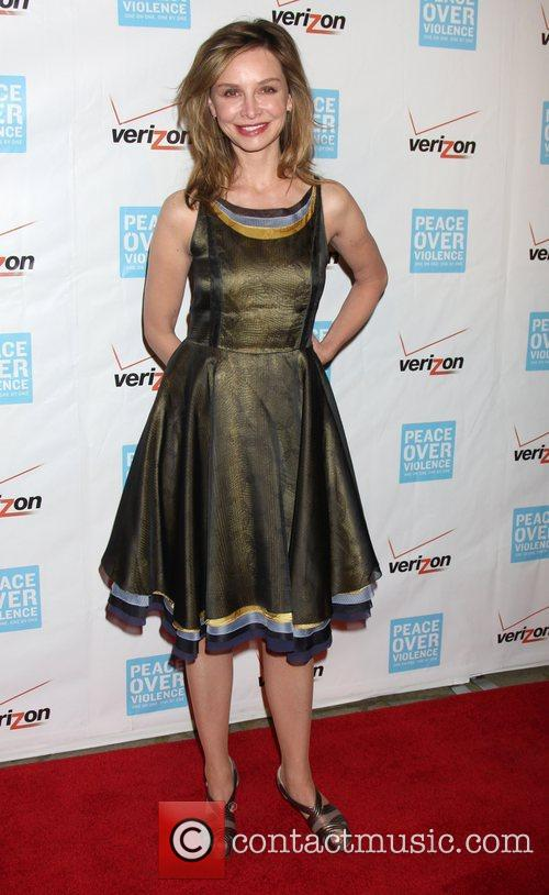 Calista Flockhart 41st Annual Peace Over Violence Humanitarian...
