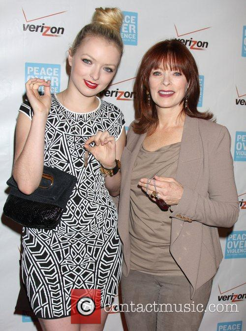 Francesca Eastwood and Frances Fisher 2