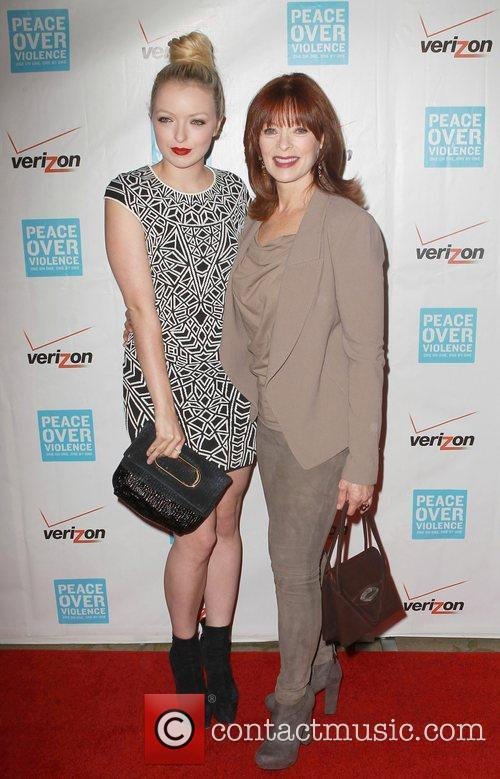 Francesca Eastwood and Frances Fisher 7