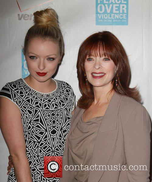 Francesca Eastwood and Frances Fisher 5