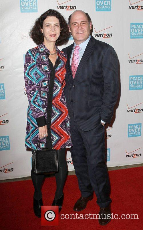 Linda Brettler, Matthew Weiner 41st Annual Peace Over...