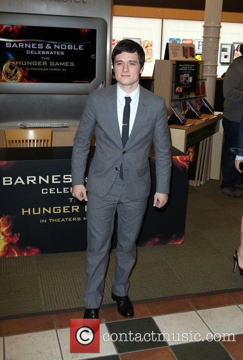 Josh Hutcherson attends a Special signing event at...