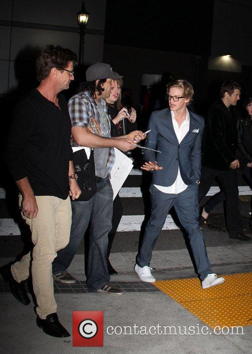 Arriving at the Afterparty for the World Premiere...