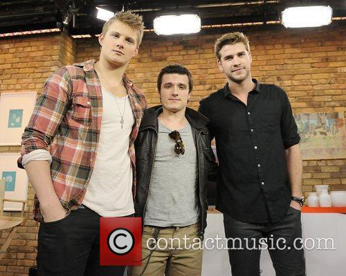 Alexander Ludwig, Josh Hutcherson and Liam Hemsworth 3