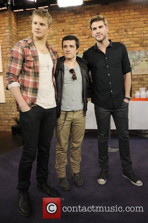 Alexander Ludwig, Josh Hutcherson and Liam Hemsworth 1