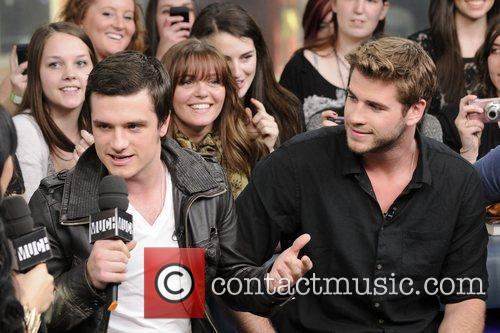 Josh Hutcherson and Liam Hemsworth 8
