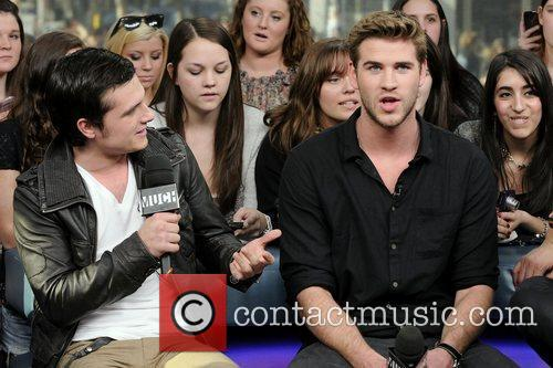 Josh Hutcherson and Liam Hemsworth 9