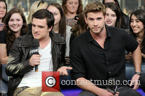Josh Hutcherson and Liam Hemsworth 11