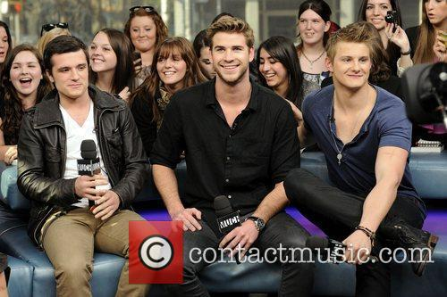 Josh Hutcherson, Alexander Ludwig and Liam Hemsworth 6
