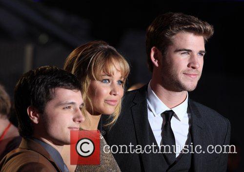 Josh Hutcherson, Jennifer Lawrence and Liam Hemsworth 5