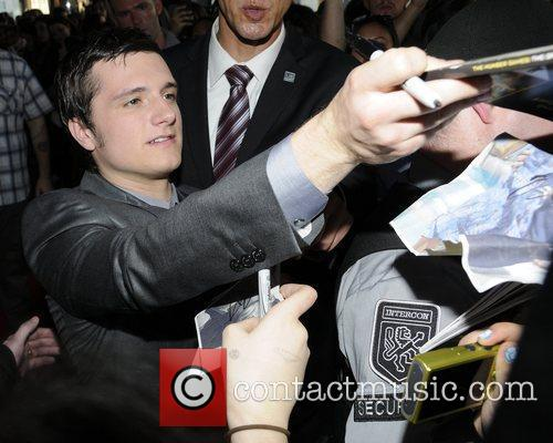 'The Hunger Games' Canadian Premiere at The Scotiabank...