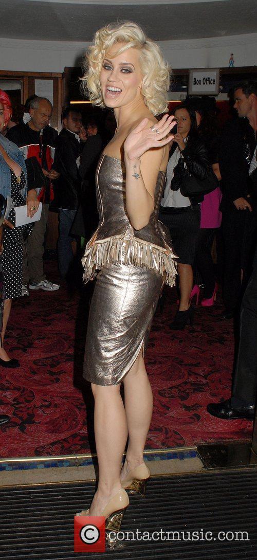 Kimberly Wyatt,  at The Hurly Burly Show...