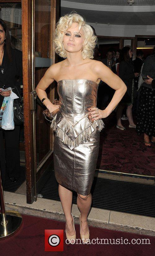 Kimberly Wyatt, at The Hurly Burly Show VIP...