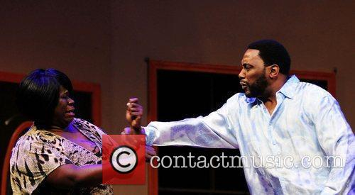 Gia Wyre and Big Daddy Kane performs on...