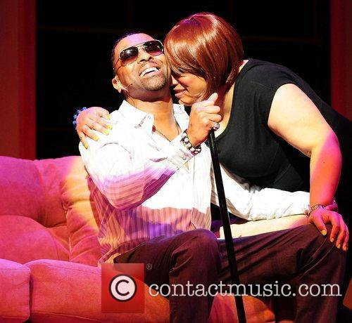 Ginuwine and Lisa Page Brooks  performs on...