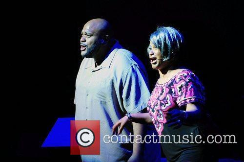 Rubben Studdard and Beverly Todd  performs on...
