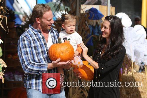 Ian Ziering, Erin Ludwig and Mia Ziering 18