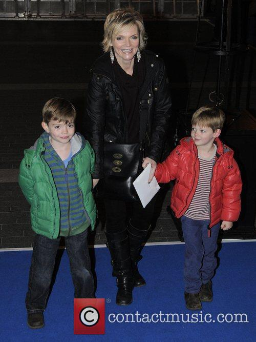 Sharon Small and children World Premiere of 'Ice...