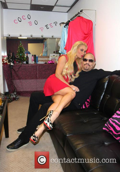 Ice T and wife Coco spend time together...