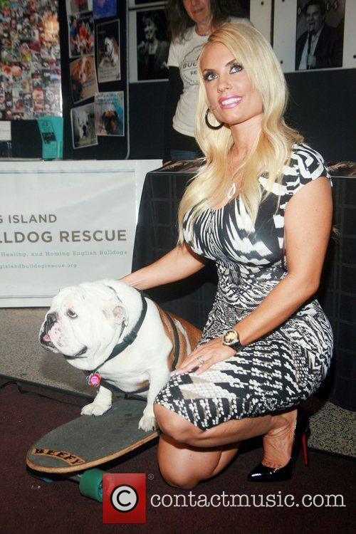 Beefy The Bulldog and Coco attend  the...