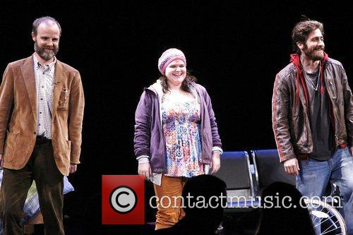 Brian F. O, Bryne, Annie Funke, Jake Gyllenhaal Opening, Off-broadway, If There Is I, Haven, Found It Yet, Laura Pels Theatre. New and York City 6