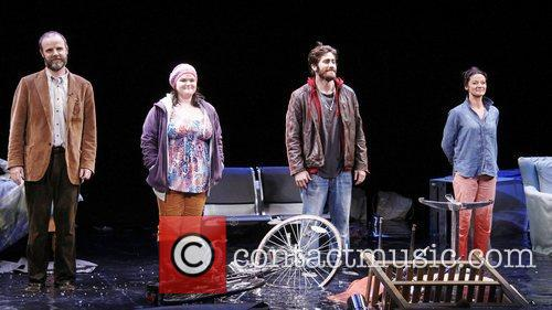 Brian F. O, Bryne, Annie Funke, Jake Gyllenhaal, Michelle Gomez Opening, Off-broadway, If There Is I, Haven, Found It Yet, Laura Pels Theatre. New and York City 5