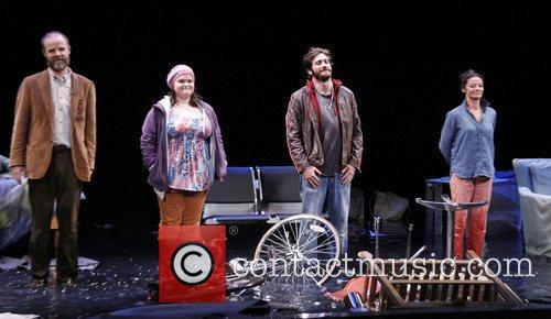 Brian F. O, Bryne, Annie Funke, Jake Gyllenhaal, Michelle Gomez Opening, Off-broadway, If There Is I, Haven, Found It Yet, Laura Pels Theatre. New and York City 1