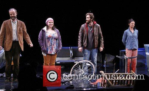 Brian F. O, Bryne, Annie Funke, Jake Gyllenhaal, Michelle Gomez Opening, Off-broadway, If There Is I, Haven, Found It Yet, Laura Pels Theatre. New and York City 4
